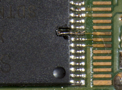 damaged nand pin