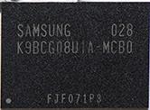 Samsung K9BCG08U1A